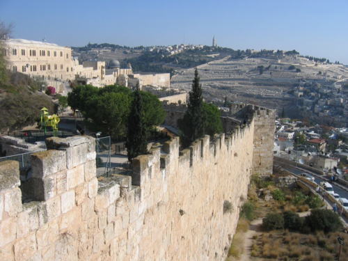 Jerusalem - Old City ramparts 3