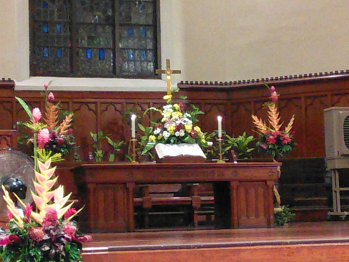 SU Church Alter